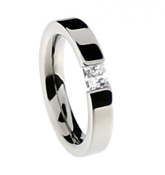 Verlobungsring Titan Mit Diamant Eheringe Und Trauringe Von Tico